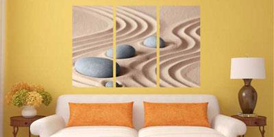 Tablourile multicanvas - elemente decorative moderne