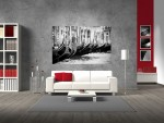 Grand canvas Classical Venice black and white - cod Z01