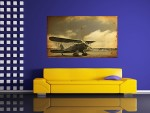 Grand canvas old vintage fighter plane - cod Z05