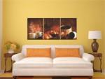 Multicanvas 3 tablouri caffe decor - cod E34