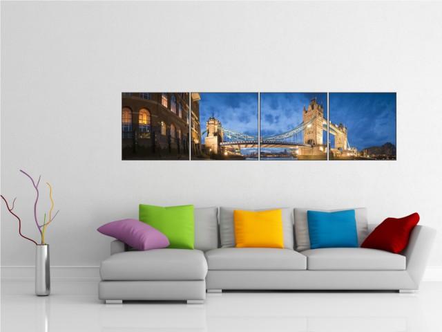 Multicanvas Tower Bridge - cod E12