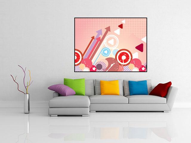 Poster arta digitala abstracta - cod AD02