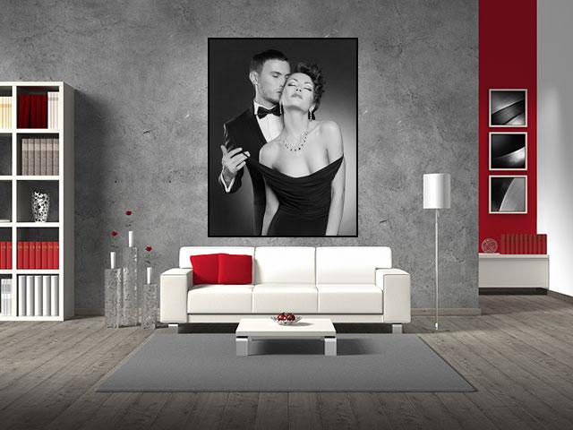 Poster senzual alb negru - cod DDD02