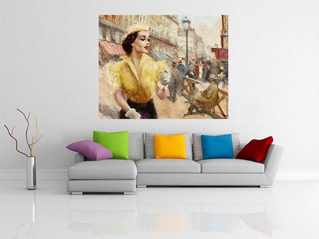 Reproducere tablou canvas - Pal Fried - Nanette - cod Q05