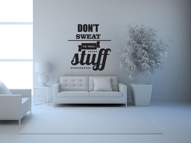 Sticker citat motivational - cod DD04
