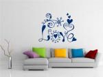 Sticker decorativ abstract love - cod FF05