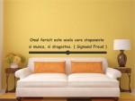Sticker decorativ citat - cod GG03