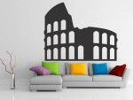 Sticker decorativ colosseum roma - cod AA05