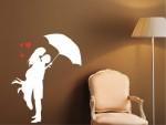 Sticker decorativ cuplu indragostit - cod EE02