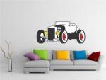 Sticker decorativ masina retro - cod CC04