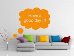 Sticker decorativ motivational - cod GG02