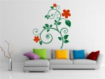 Sticker floare decorativa - cod BB01