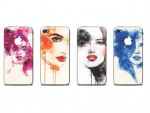 Stickere Iphone4 ilustratii femei - cod JJ03