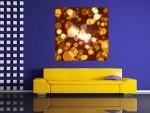 Tablou abstract forme si culori - cod C80