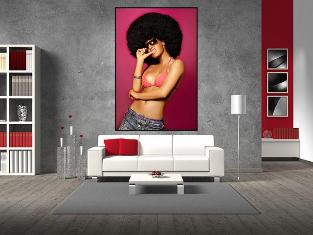 Tablou afro girl - cod B11