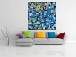 Tablou arta abstracta - cod C18