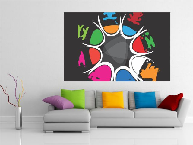 Tablou canvas abstract - cod C24