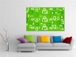 Tablou canvas arta abstracta - cod A34
