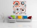 Tablou canvas cercuri abstracte - cod C69