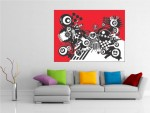 Tablou canvas design abstract - cod C48