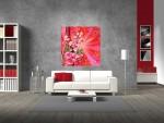 Tablou canvas design floral - cod L15