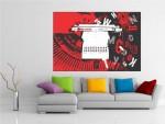 Tablou canvas digital art - cod B15