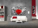 Tablou canvas floare - cod G15
