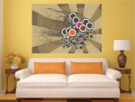 Tablou canvas forme si culori - cod B16