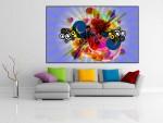 Tablou canvas forme si culori - cod C44