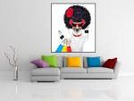Tablou canvas funky dog - cod C20