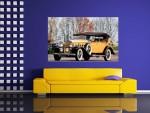 Tablou canvas masina retro - cod S02