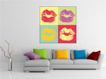 Tablou canvas pop art - cod B17
