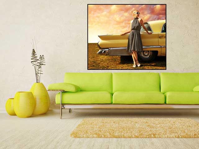 Tablou canvas retro - cod F14