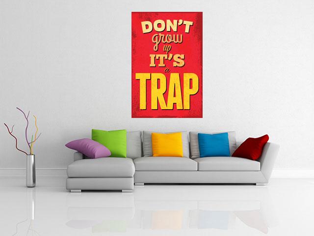 Tablou citat decor sufragerie - cod T10
