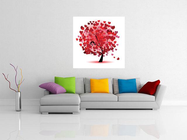 Tablou copacul iubirii - cod B29