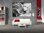 Tablou decorativ alb negru - cod G01
