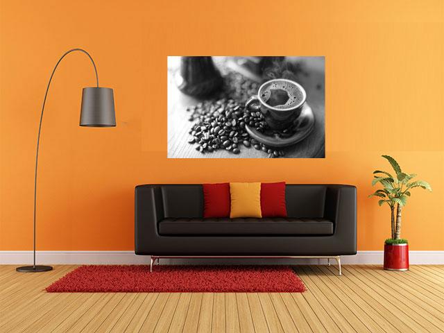 Tablou decorativ armonie cafea - cod I02