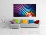 Tablou decorativ forme si culori - cod J14