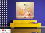 Tablou floral design abstract - cod C82
