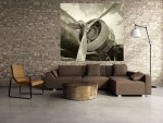Tablou grand canvas retro airplane - cod Z13