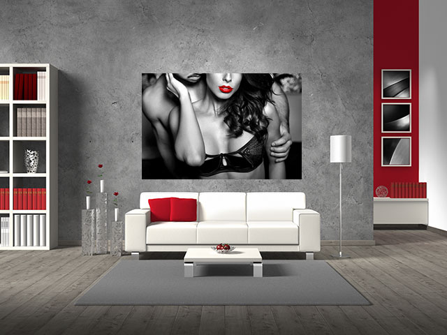 Tablou grand canvas sensual woman - cod Z11