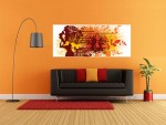 Tablou panoramic arta decorativa - cod J22